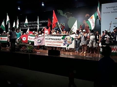 Mulheres camponesas participam do X Congresso Brasileiro de Agroecologia