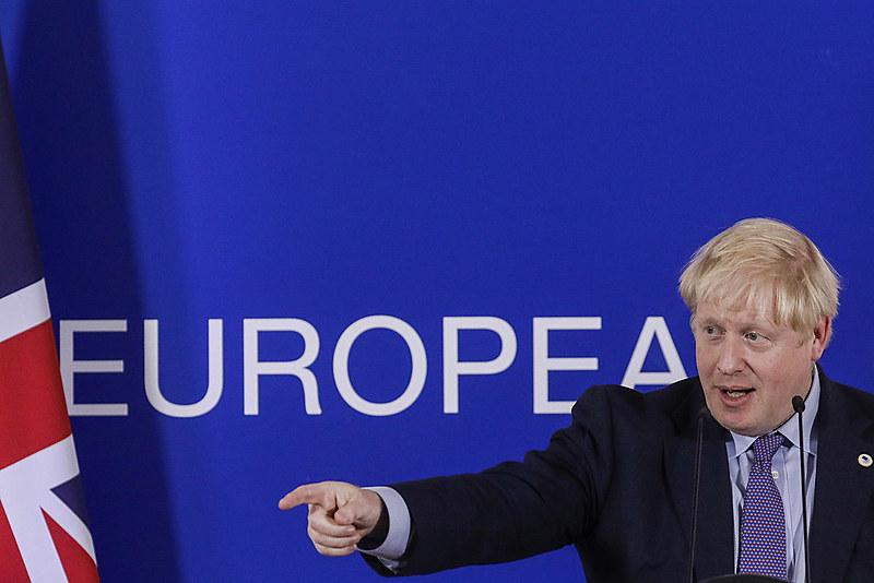 """""""Chegamos a um ótimo novo acordo que nos devolve o controle"""", afirmou Johnson"""