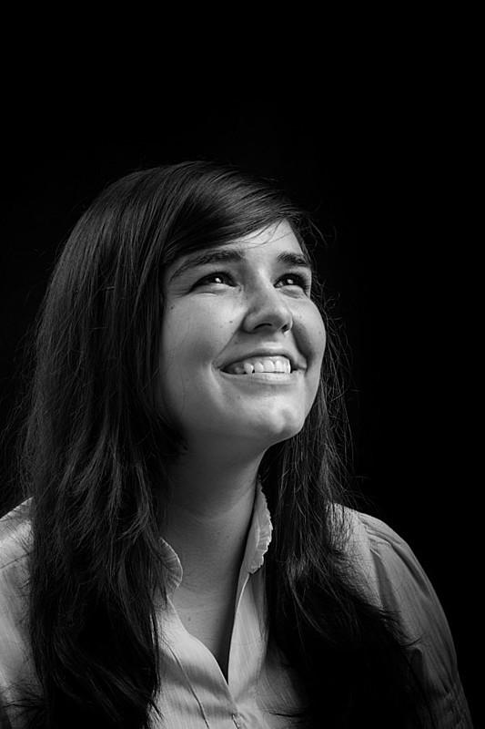 Mas, na verdade, essa é a Giselle Maia, estudante de Gestão Pública, que luta contra a lesbofobia, pela liberdade e emancipação da mulher.