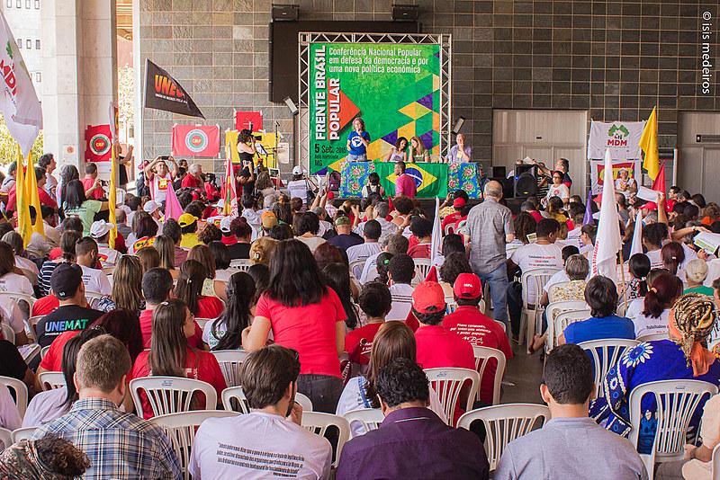 Frente Brasil Popular foi lançada oficialmente, em setembro de 2015, em Conferência Nacional realizada em Belo Horizonte