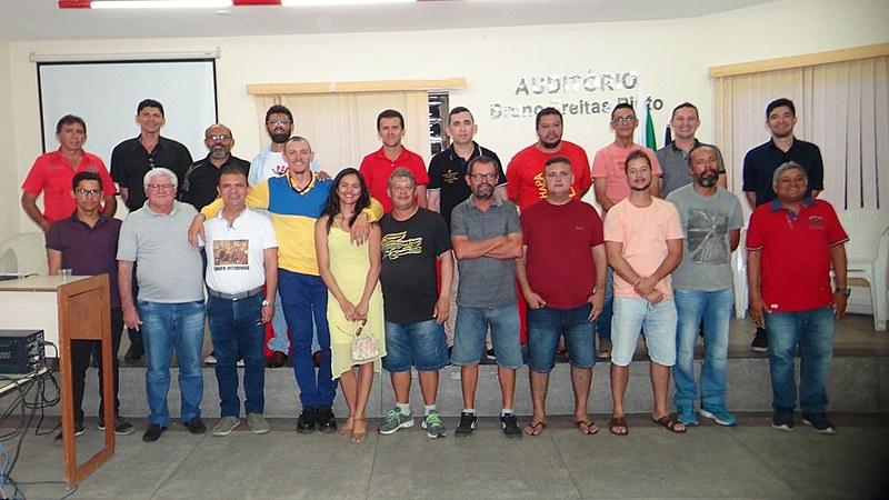 Componentes da nova diretoria do Sindicato dos Correios.