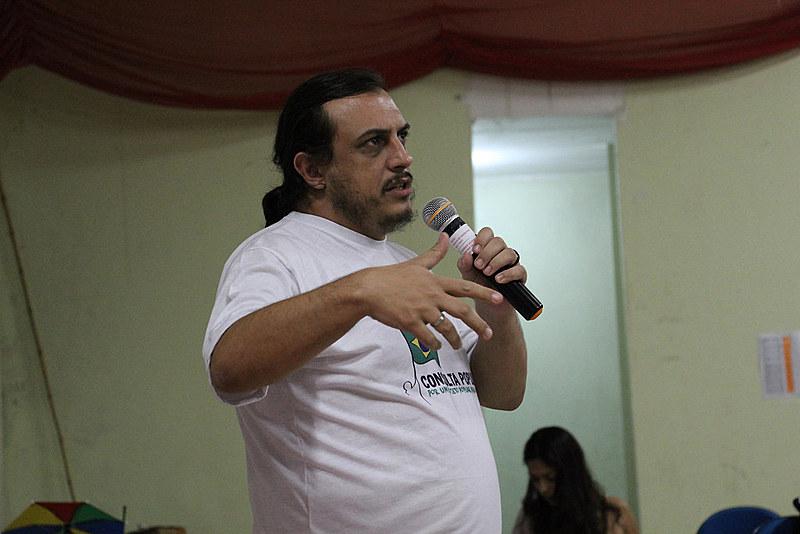 """""""Nosso principal desafio tanto nacionalmente quanto aqui no estado é ampliar a presença da Frente Brasil Popular"""""""