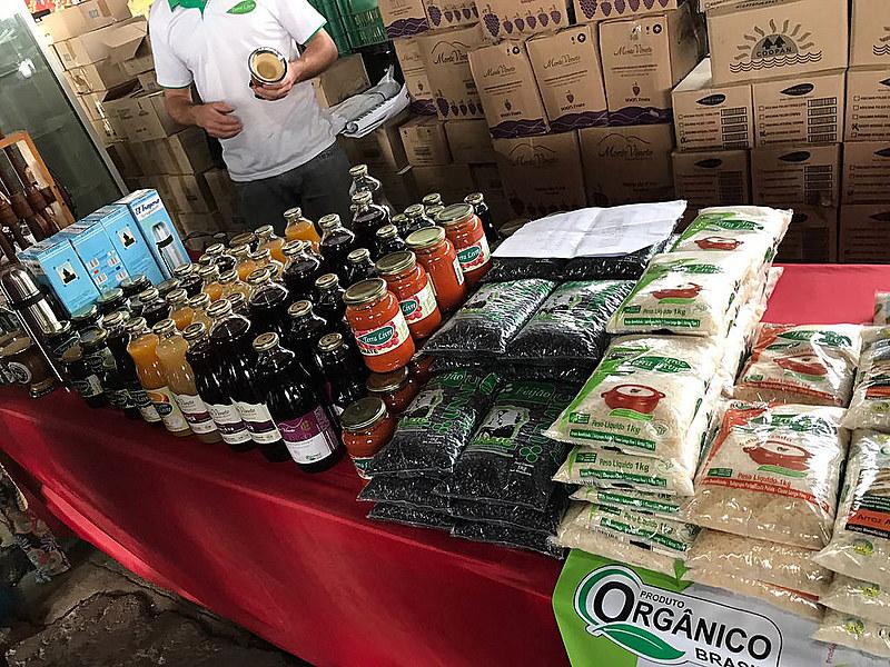Alimentos saudáveis diretamente do produtor para o consumidor