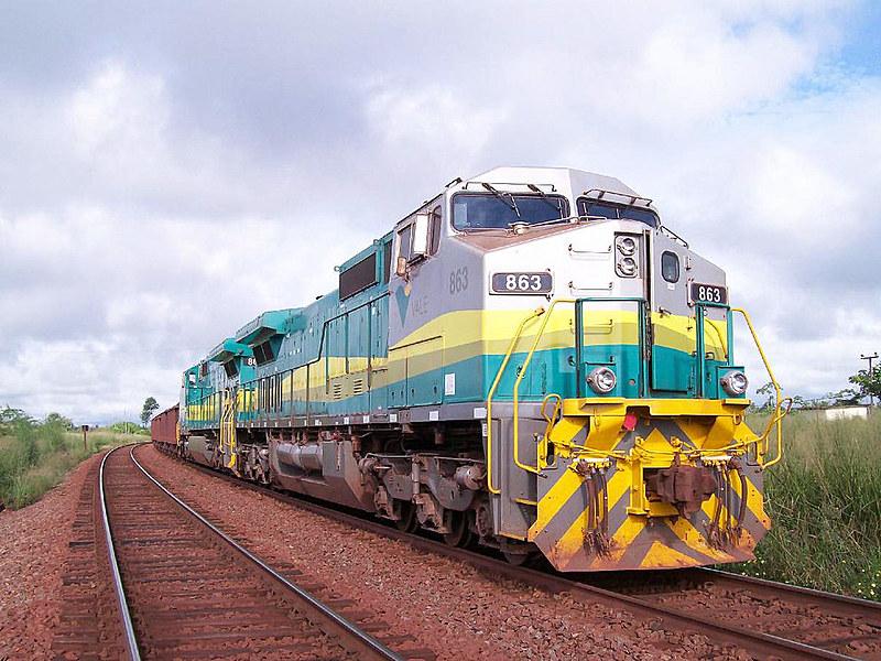 Estrada de ferro Carajás, no Maranhão