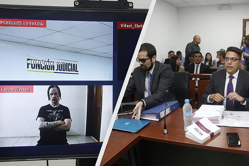 Ola Bini não foi autorizado a comparecer à audiência de custódia na quarta-feira (29) e teve que acompanhar por videoconferência