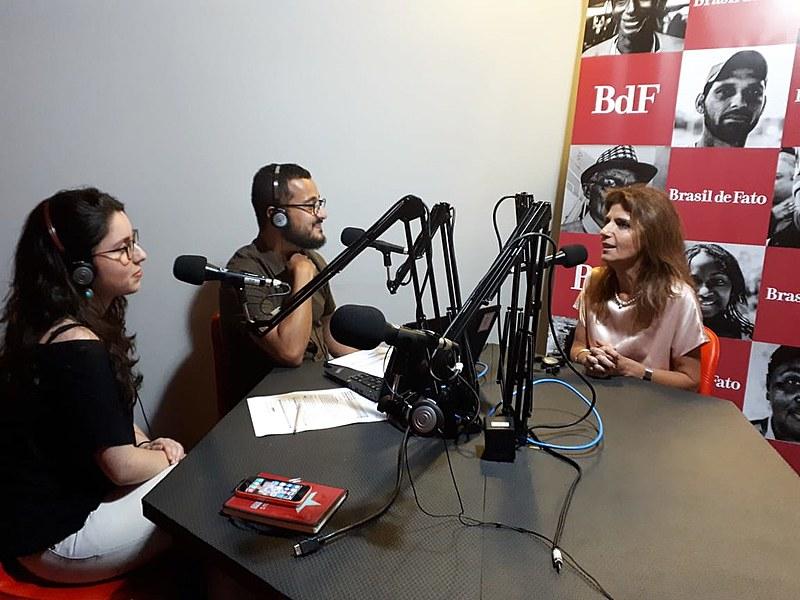 Ana Estela Haddad participou do programa No Jardim da Política, da Rádio Brasil de Fato