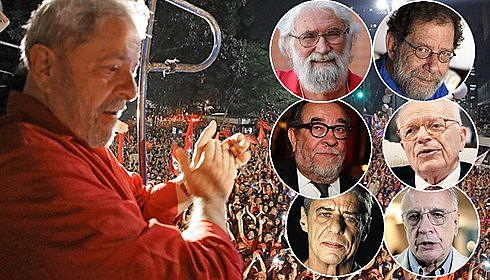 Escritores, juristas e artistas estão entre os apoiadores da candidatura de Lula