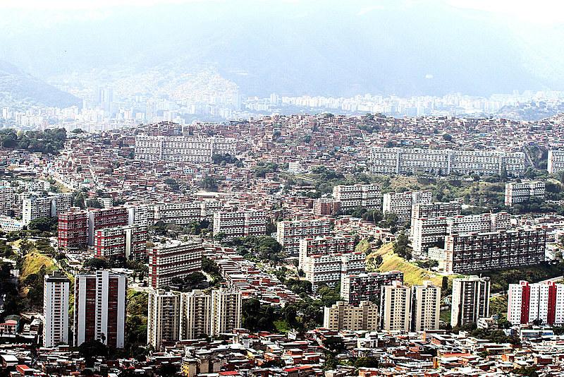 Panorâmica do 23 de Enero, Zona Oeste de Caracas