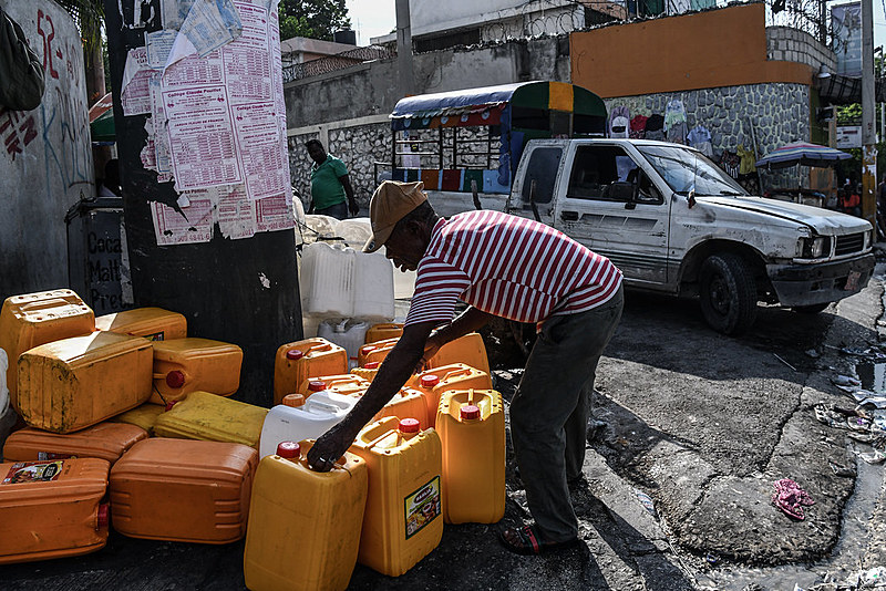 Porto Príncipe, capital do Haiti, sofre atualmente uma crise de desabastecimento em um contexto de instabilidade política e econômica