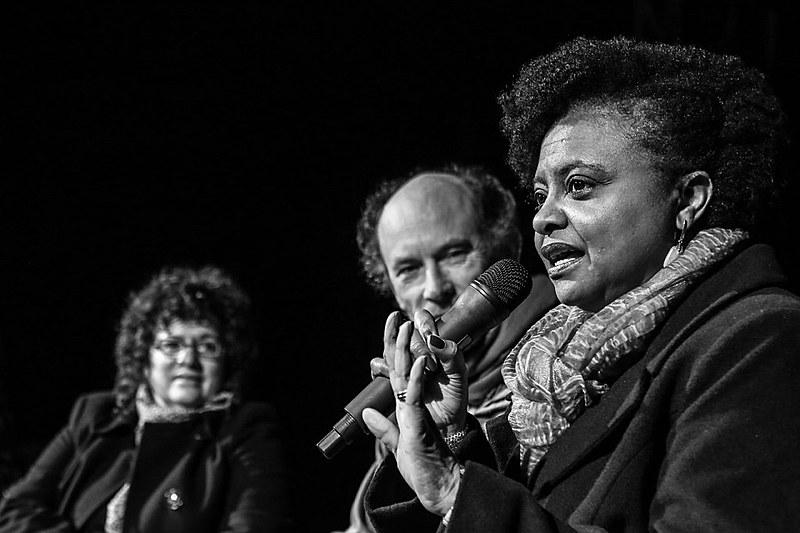 Ex-ministra Nilma Lino Gomes, da pasta de Mulheres, Igualdade Racial e Direitos Humanos do governo Dilma,  destaca que o processo de universalização do acesso e da luta pela permanência de estudantes nas instituições públicas está ameaçado diante do que propõe Michel Temer