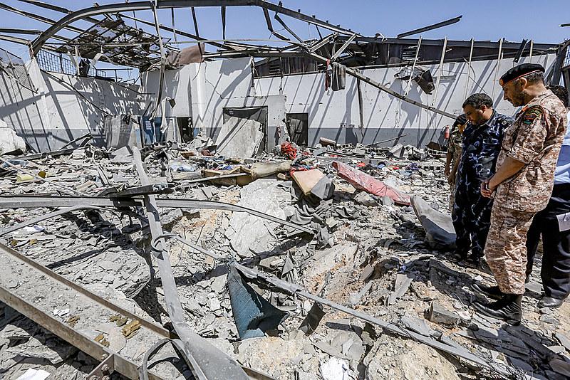 """O ataque """"claramente chega a um nível de crime de guerra"""", afirmou o enviado das Nações Unidas na Líbia, Ghassan Salame"""