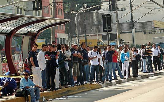 Na capital paulista, os ônibus fazem cerca de 10 milhões de viagens por dia