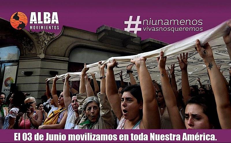 Alba Movimentos é uma das entidades que convoca para mobilizações neste sábado (3)