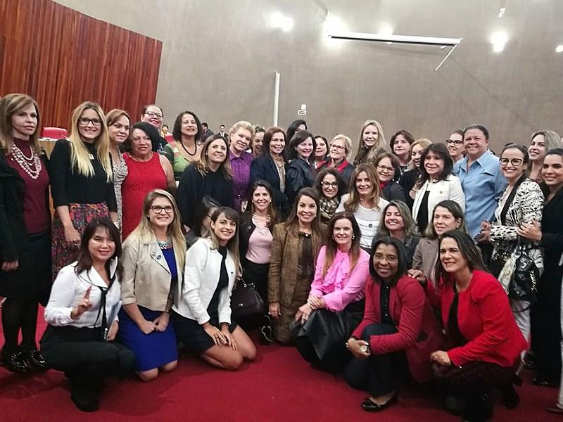 Bancada feminina no Congresso registrou dia em que TSE aprovou fundo eleitoral, em maio deste ano