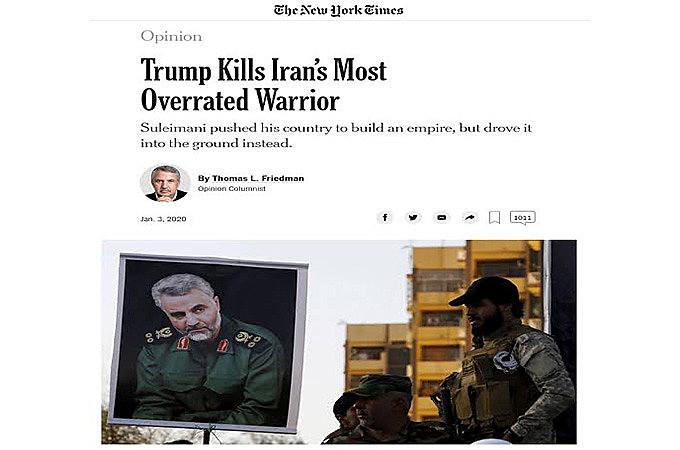 Friedman não quer analisar nada, é pura guerra de propaganda, disputa pelo controle da narrativa