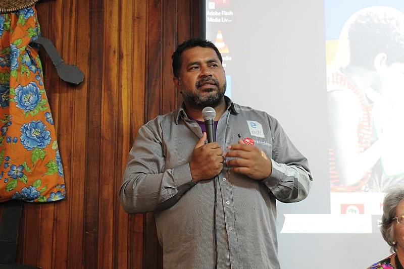 João Paulo Rodrigues, da direção nacional do MST