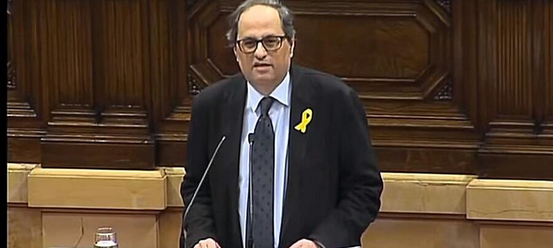 Novo mandatário obteve 66 votos a favor e 65 contra no Parlamento Catalão