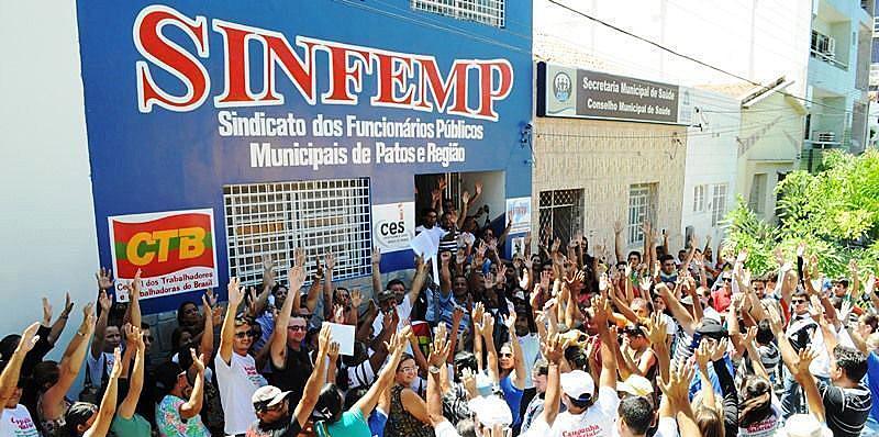 No dia 20, o SINFEMP vai realizar uma caminhada e em seguida um ato público em frente à Prefeitura Municipal de Patos.