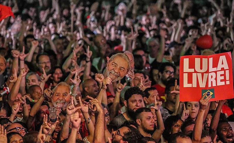 Festival Lula Livre no Rio de Janeiro