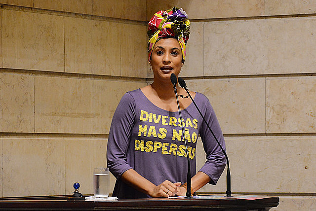 Rio de Janeiro councilwoman and human rights activist Marielle Franco was brutally murdered in March 2018