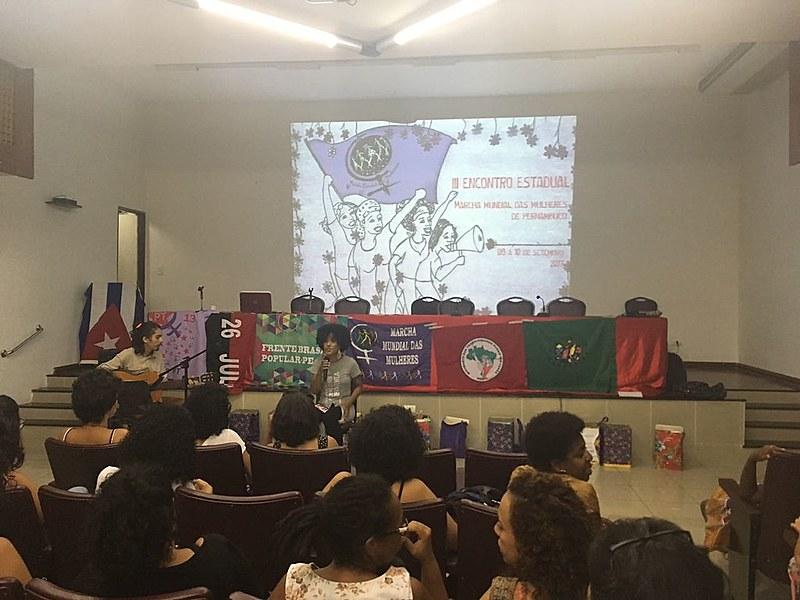 A proposta do lançamento é construir uma articulação dos movimentos feministas de todo estado