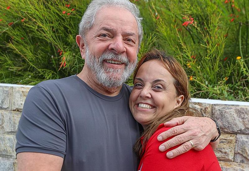 Lurian Cordeiro da Silva, primogênita de Lula