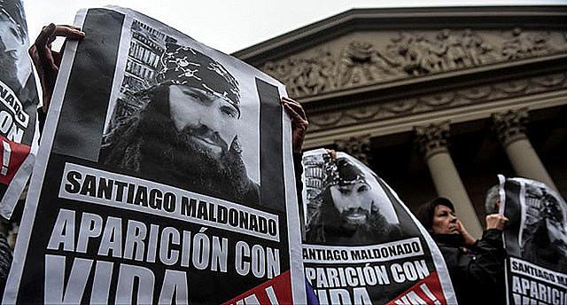 Santiago Maldonado é o primeiro desaparecido desde a abertura política no país