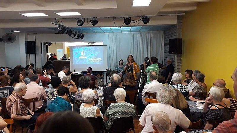 Debate sobre candidaturas coletivas lotou Clube de Cultura