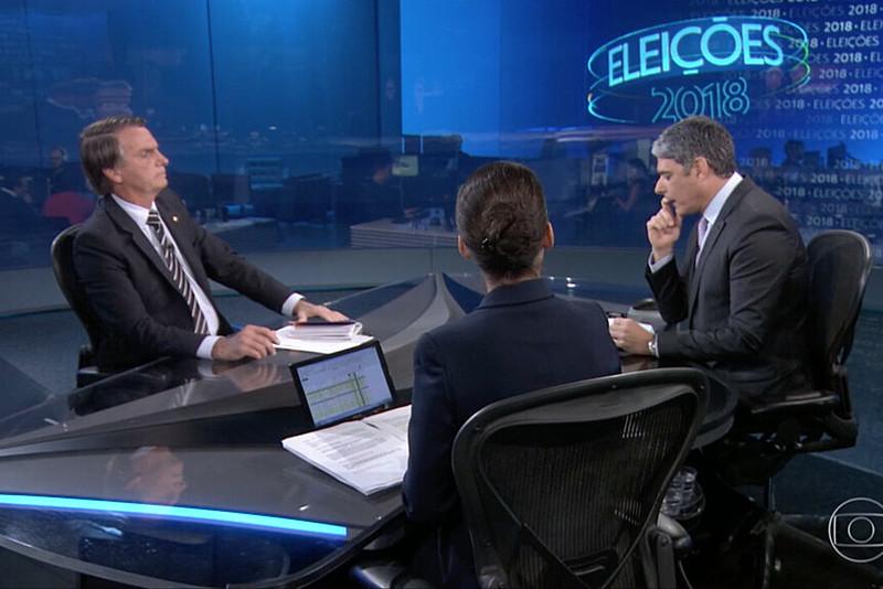 Durante 23 minutos da live, com os ânimos visivelmente alterados, Bolsonaro ofendeu a emissora