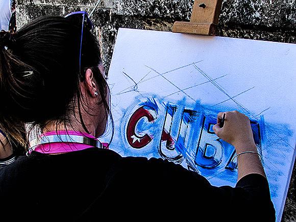 Arte contra o bloqueio dos EUA a Cuba