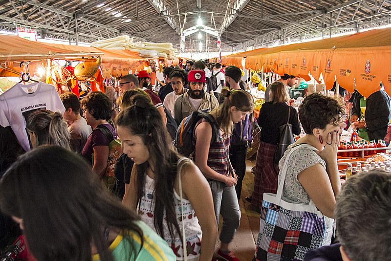 Em 2015, foram 150 mil pessoas que visitaram a feira