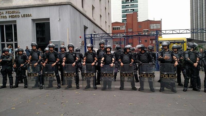 Ato contra governo de Temer ne Av. Paulista em SP.