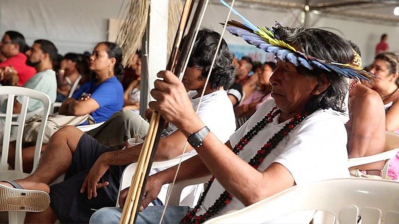 Festival Juruena Vivo, en Juara (MT), comunidades indigenas y movimientos sociales discutieron la situación de los ríos de Amazonas