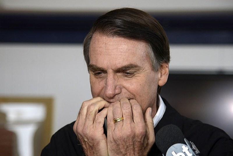 """""""No Brasil dos Bolsonaros, o idiota bate no peito e proclama seu estado superior de estupidez"""""""