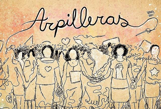 El documental narra la historia de mujeres que encontraron en las arpilleras una salida para la tragedia de las represas