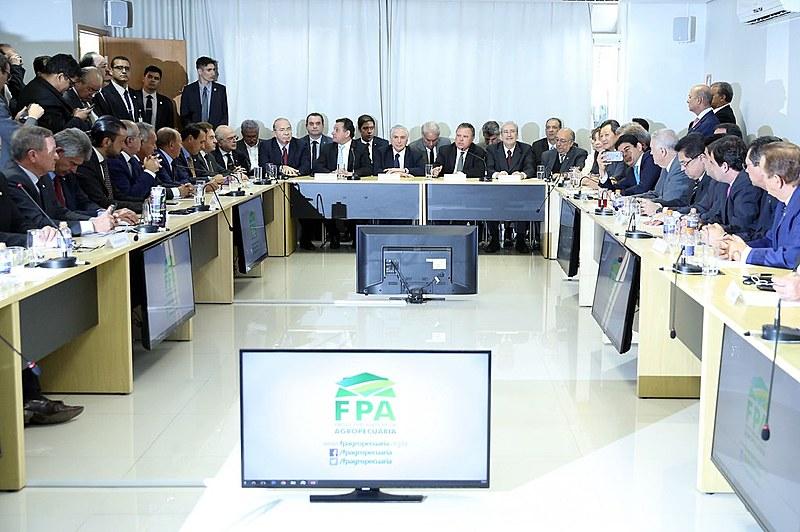 Presidente Michel Temer recebe bancada ruralista na terça-feira (1)