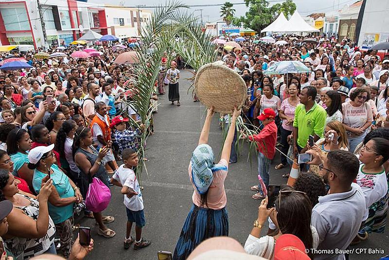 Registro da 11ª Romaria da Terra e das Águas, evento organizado pela CPT