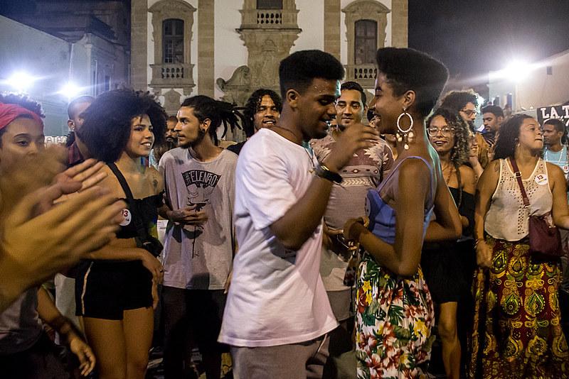 No bairro Santo Antonio, são muitos os espaços de confraternização da cultura negra, um doa mais tradicionais deles é a Terça Negra
