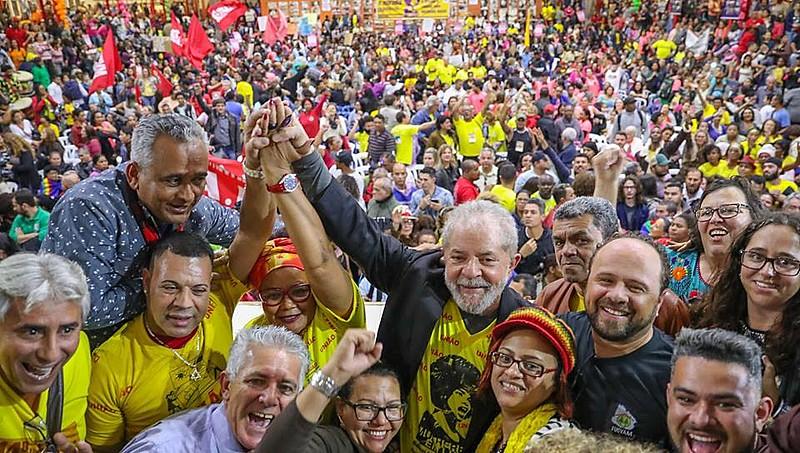 Ex-presidente participou nesta quinta-feira (3) do 14º encontro da União Nacional por Moradia Popular, em São Paulo