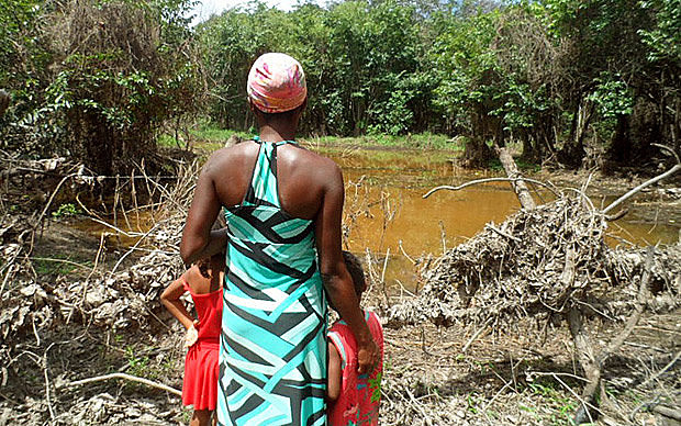 Territorio Quilombola de Iúna, en la Chapada Diamantina, estado de Bahia, donde seis personas fueron asesinadas en 2017