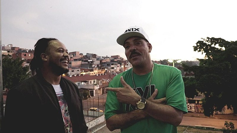 A dupla Dexter e Afro-x se conhece desde a década de 1980