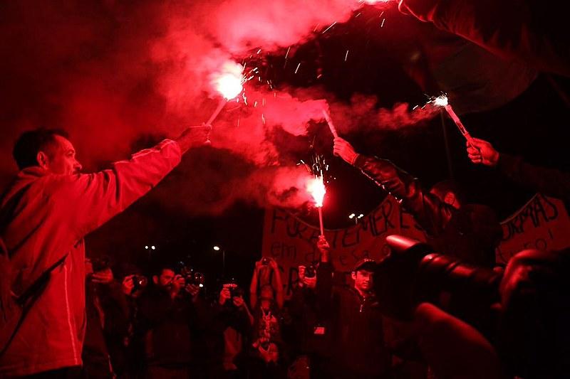 O ato unificado da maior Greve Geral da história, em São Paulo (SP) reuniu 70 mil pessoas