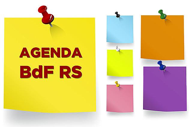 Agenda da semana do dia 30 de setembro até 7 de outubro de 2019