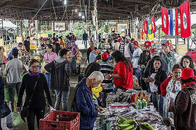 Mais de 260 mil pessoas foram à 3ª edição da Feira Nacional da Reforma Agrária, em 2018, no Parque da Água Branca