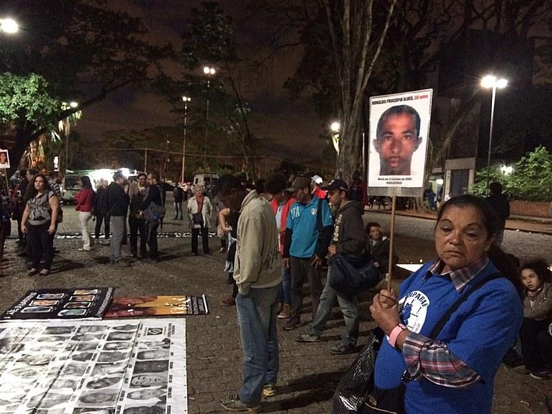 Coletiva de imprensa reuniu mães que tiveram filhos violentados pela corporação militar, como as Mães do Rio de Janeiro e o Comitê de Mães e Pais em Luta