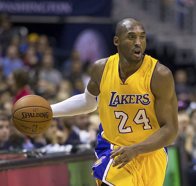 Kobe Bryant marcou mais de 33 mil pontos em sua carreira na NBA