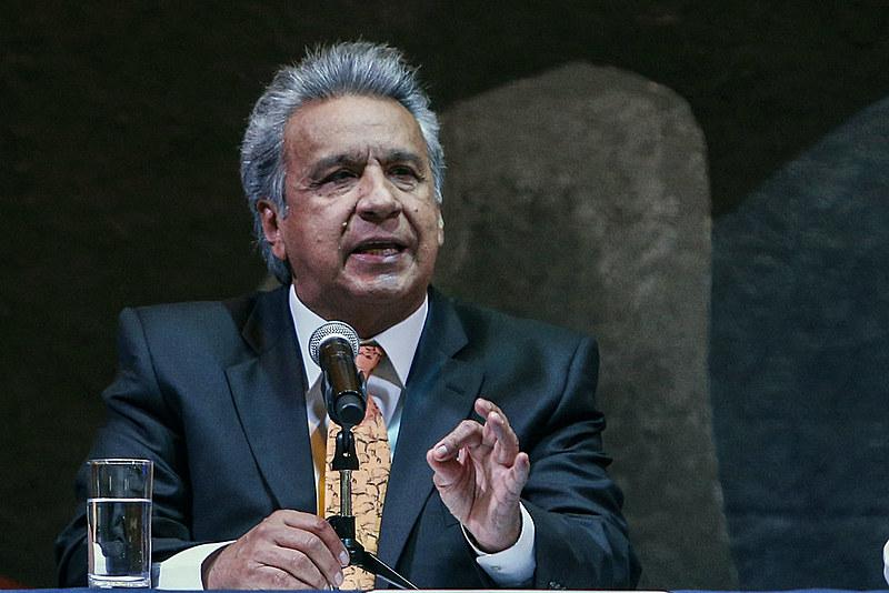 Lenín Moreno assumiu o cargo em maio de 2017, sucedendo Rafael Correa