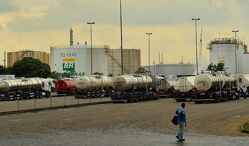 Greve nacional de petroleiros, em 2015