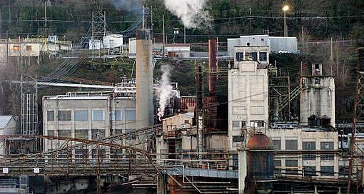 Moinho e central elétrica, West Linn, Oregon