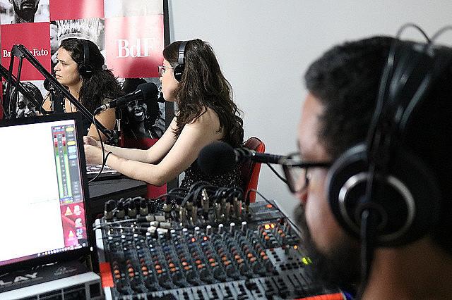 Estúdios da Rádio Brasil de Fato em São Paulo (SP)